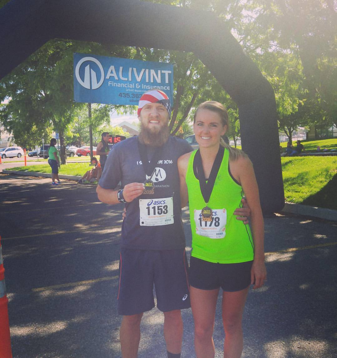 North Logan Half Marathon 7.16.16
