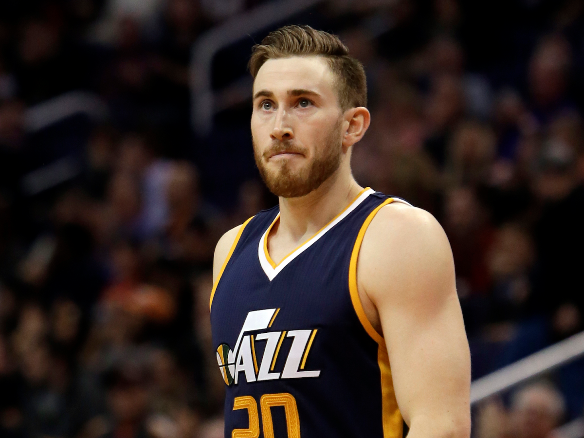 "Gordon Hayward.  What we saw, but didn't quite ""see""."